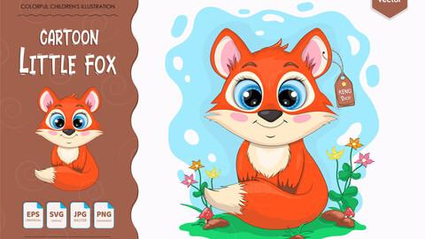 Little cartoon FOX.