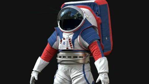 Astronaut Suit Artemis Cosmonaut Nasa