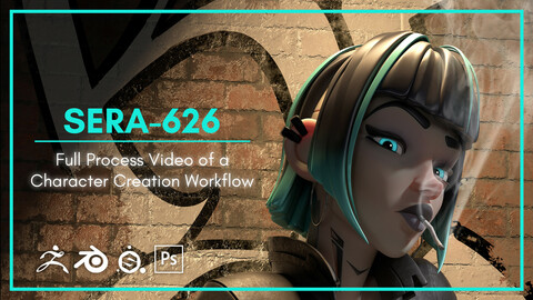 [Process Video] Stylized Character CG Sculpture Workflow Video