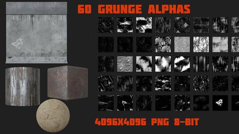 60 Grunge Alphas