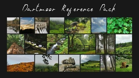 FREE Dartmoor Reference Pack for Artist's - Volume I