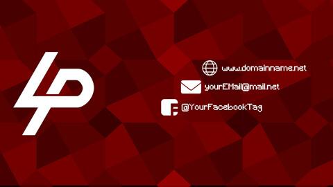 Custom YouTube Banner (.psd)