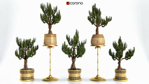 Decorative ornamental tree Set Vol 2
