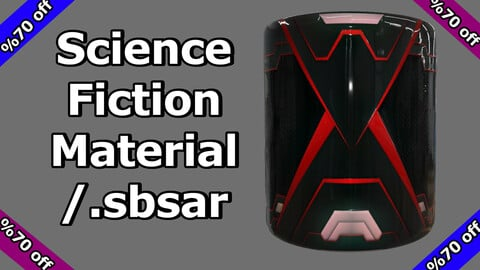 Science Fiction Material / v5 / .sbsar