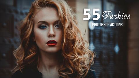 55 Fashion Photoshop Actions