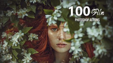 100 Film Photoshop Actions