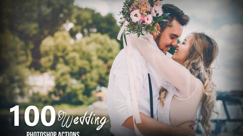 100 Wedding Photoshop Actions