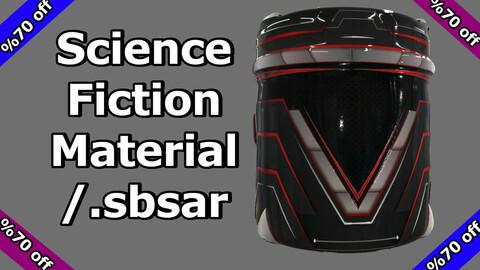 Science Fiction Material / v6 / .sbsar