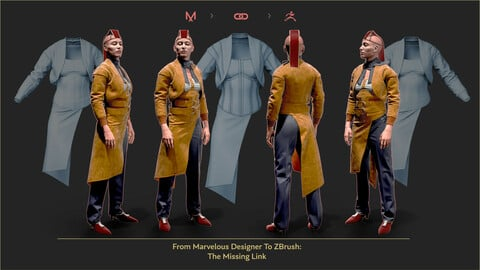 From Marvelous Designer To ZBrush: The Missing Link