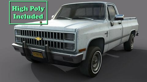 Chevrolet C10 1982 White