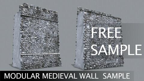 Medieval Modular Wall Free Sample