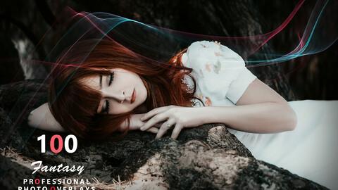 100 Fantasy Photo Overlays