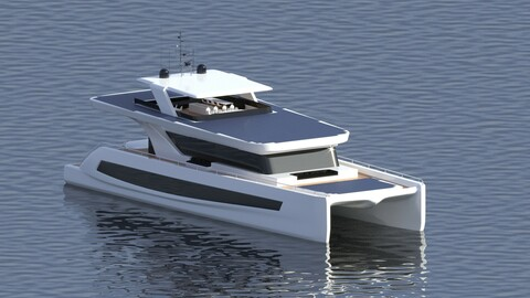 Luxury Solar Catamaran