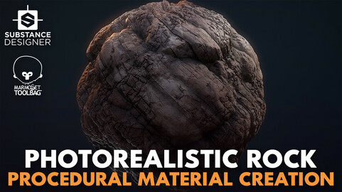 Creating a Procedural Photorealistic Rock Material in Substance Designer & Marmoset