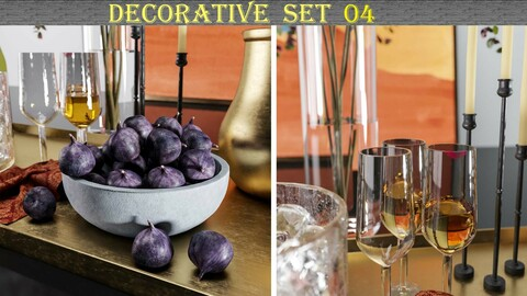Decorative set 04