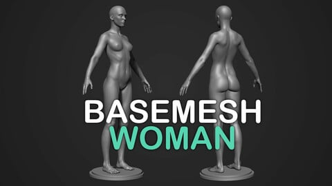 Realistic Woman Body
