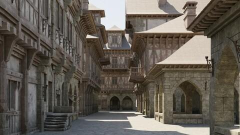 Medieval Modular Town