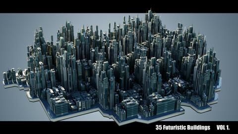 Futuristic Buildings VOL. 1