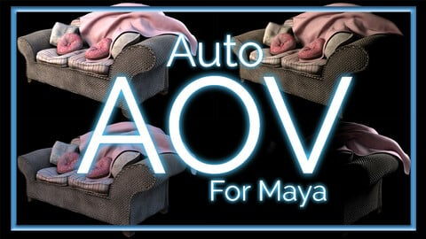 Auto Light AOV setup - Arnold For Maya