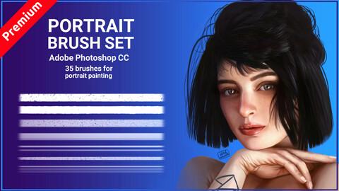Portrait brush set (Premium) 2