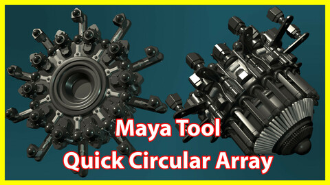 Maya Tool - Quick Circular Array
