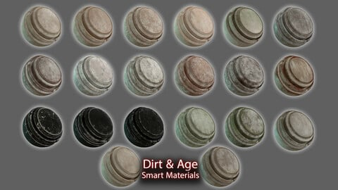 DIRT & AGE EFFECTS SMART MATERIALS