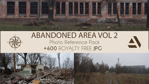 PhotoTextures Reference Pack: Abandoned Houses and Area VOL 2 (EXTENSION)