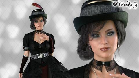 Lady Steam 02