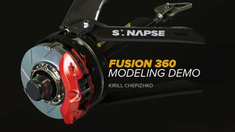 FUSION 360: Brake assembly demo