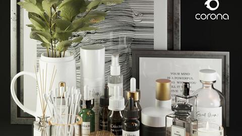 3dasset beauty accessories decor
