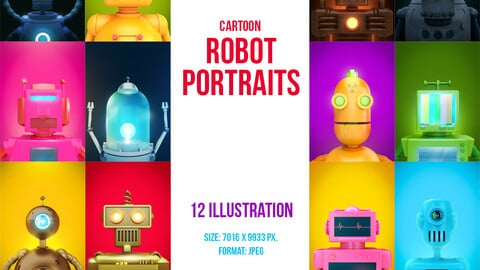 Robot portraits