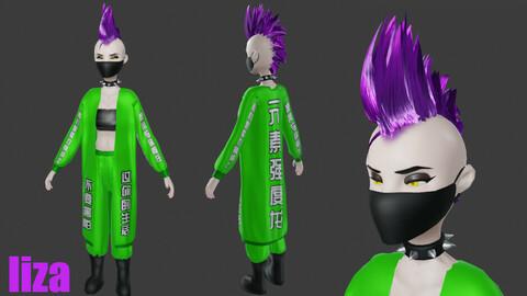 Cyberpunk Characters Bundle