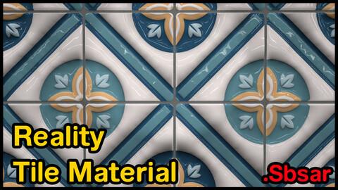 Reality Tile Material / v1 / .sbsar