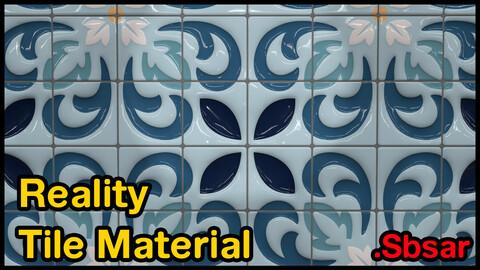 Reality Tile Material / v3 / .sbsar