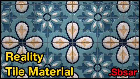 Reality Tile Material / v4 / .sbsar