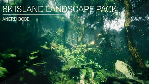 8K Island Landscape Pack