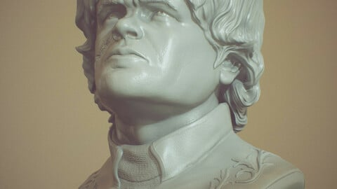 Game Of Thrones Tyrion Lannister Bust for 3D Printing 3D print model