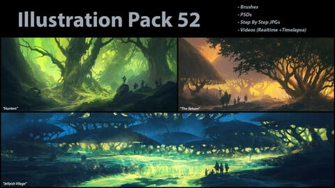 Illustration Pack 52 (not a stock asset)