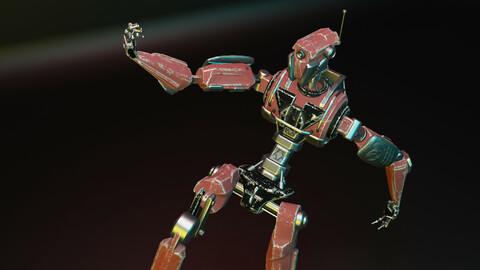 Old Robot 3d model