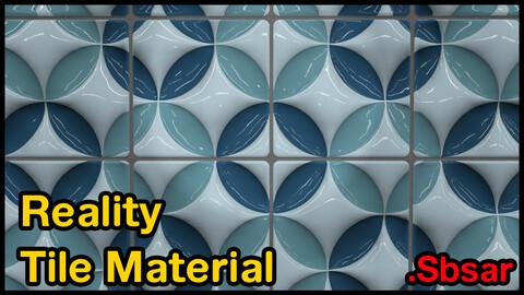 Reality Tile Material / v6 / .sbsar