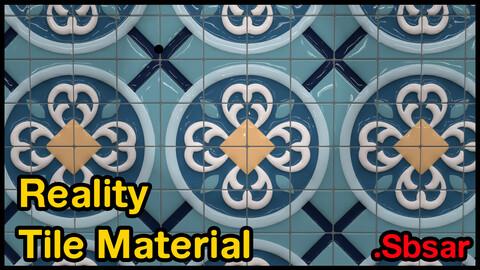 Reality Tile Material / v8 / .sbsar