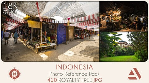 Photo Reference Pack: Indonesia