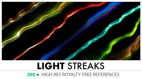Flares, Light Streaks and Energy Lines