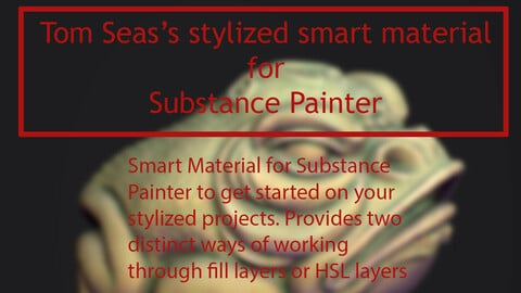 Stylized Smart Material [Substance Painter] [Free]