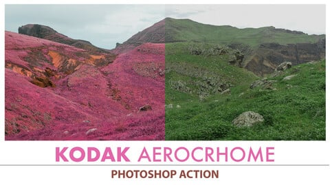 Infrared Aerochrome Photoshop Action