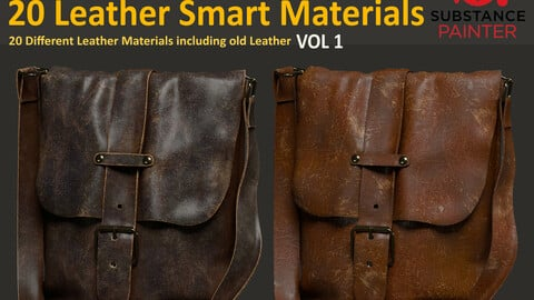 20 Leather Smart Materials - Vol 1