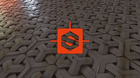 Geo Weave Tiles Substance