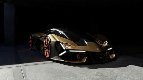 Lamborghini Terzo Millennio - Garage Location
