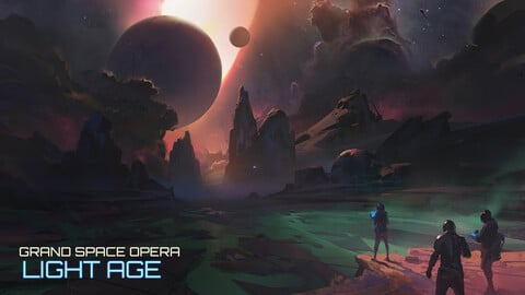 Grand Space Opera: Light Age - Keyframe Design - Project files & Explanations