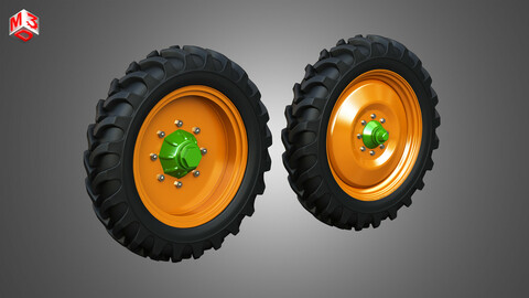 Tractor Tires and Rims - T08